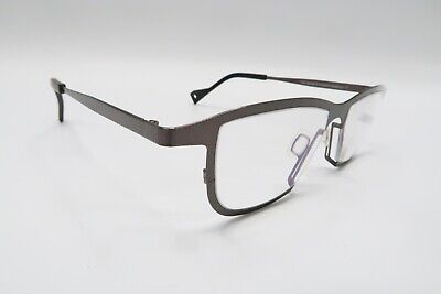 NICE! Theo Belgium James 5 Rx Eyeglasses Frames Bronze Brown Black A611