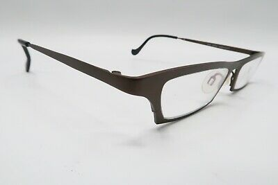 Theo Belgium Dubai Rx Eyeglasses Frames Bronze Brown Cat Eye A612