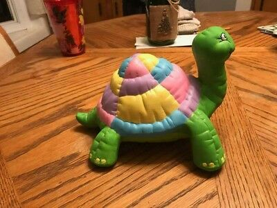 Large Softee Turtle Unpainted Ceramic Bisque Ready To Paint