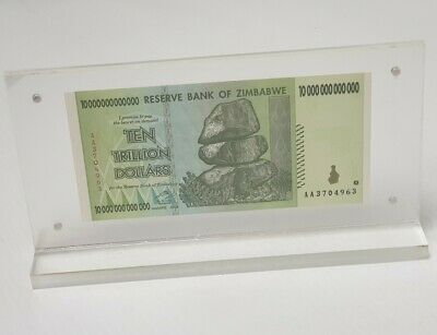 Bank Note Money Holder Acrylic Currency Display Dollar Frame Gifts (MS-CF)