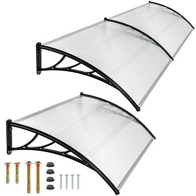 Front door canopy porch rain protector awning lean-to roof shelter new