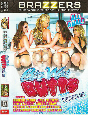 Big Wet Butts Volume 12 - Sophie Dee - Brazzers - Dvd Sealed Over 3 Hours