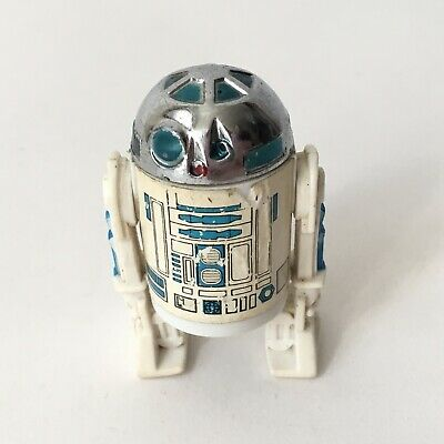 Vintage Kenner Star Wars Figure - R2-D2 Droid Solid Dome 1977 Coo Taiwan Variant