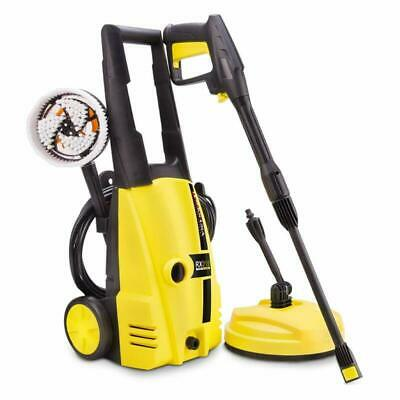 Powerful Compact Pressure Washer - 135 Bar Water Car Window Wall Clean Cleaner