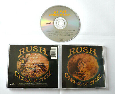 Caress Of Steel [Remaster] by Rush (CD,1997,Anthem,Canada) [1975] ANMD 1077