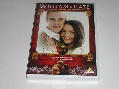 WILLIAM AND KATE: THE MOVIE DVD (Region 2) NEW & SEALED Romance Royal Wedding