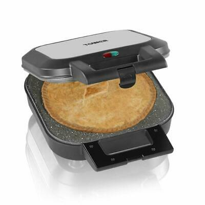 Large Deep Fill Pie Maker Easy Clean NonStick Ceramic Plates Home Easy Baking