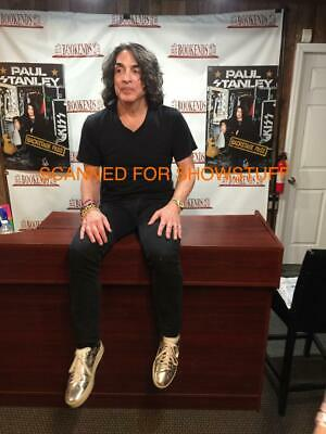 Paul Stanley Signed Backstage Pass Book Kiss + Bonus 3 Book Event Photos 2019