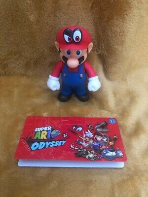 "Super Mario 5"" Action Figure - Super Mario Odyssey Mario & Cappy - NEW & SEALED"