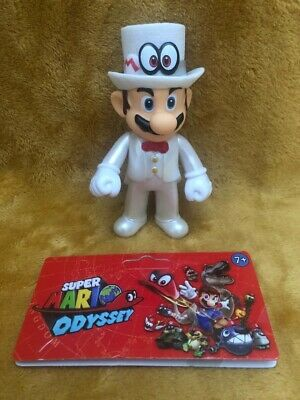 "Super Mario 5"" Action Figure - Super Mario Odyssey Wedding Tuxedo - NEW & SEALED"