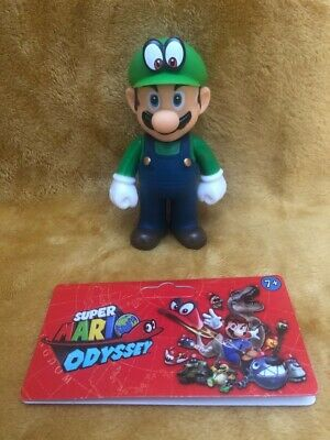 "Super Mario 5"" Action Figure - Super Mario Odyssey Luigi Outfit - NEW & SEALED"
