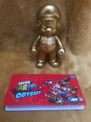 "Super Mario 5"" Action Figure - Super Mario Odyssey Golden Outfit -NEW & SEALED"