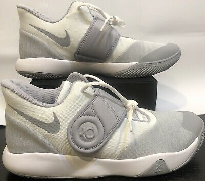 the latest d1eb5 a9176 Nike KD TREY 5 VI Basketball Shoes White Wolf Grey White AA7067-100