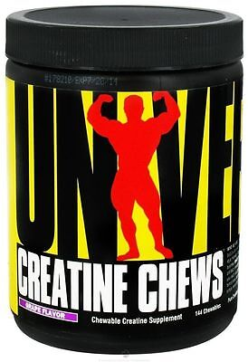 Universal Nutrition Creapure Kreatin Chews Grape - 144 CT Muskelaufbau