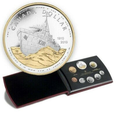 The Canadian Navy, 100th Anniversary - 2010 Canada Proof Double Dollar Set