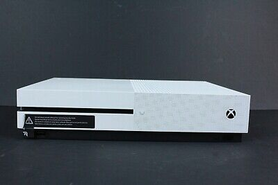 Microsoft Xbox One S 1TB 1681 Gaming Console Only, White