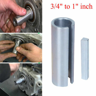 "3/4"" to 1"" Inch w/Step Key Gas Engine Pulley Crank Shaft Sleeve Adapter parts"