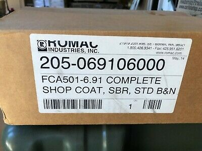 "Romac FCA501 6.91 205-069106000   6"" coupling new in box"