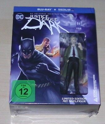 Dcu Justice League Dark with Constantine Figure Limited Edition Blu Ray New