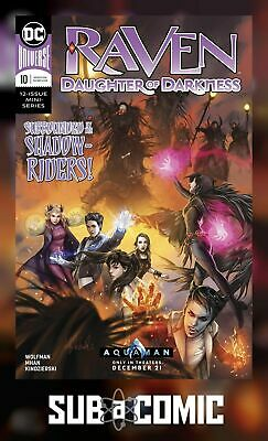 RAVEN DAUGHTER OF DARKNESS #10 (DC 2018 1st Print) COMIC