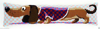 Draught Excluder chunky cross stitch kit from Vervaco 4.5hpi canvas Dachshund