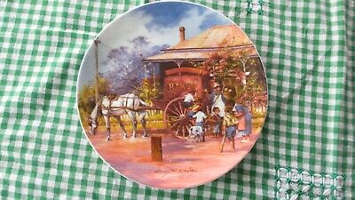 Darcy Doyle Childhood Memories the Baker , Plate Ashdene Bone China