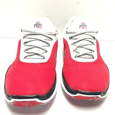 brand new 706f9 d9f3f Nike Mens Ohio State Buckeyes Free Trainer V7 Week Zero Shoes Sneakers Size  8 Us