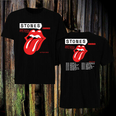 Rolling Stones New Dates 'No Filter' Tour 2019 T-shirt tee all size