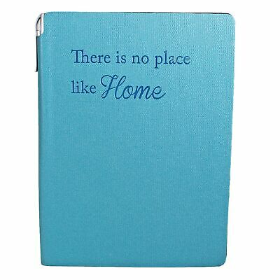 Soft Cover - A5 A-Z Index Address Book and Pen - Blue