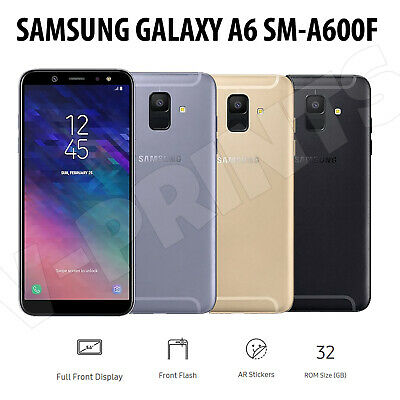 Samsung Galaxy A6 2018 Mobile Phone Smart A600 Dual Sim Free Unlocked 4G 32GB