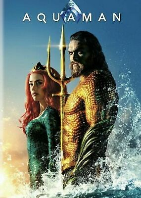 Aquaman DVD 2018 2-Disc Special Edition NEW SEALED FAST SHIP