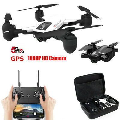 Drohne 5G Selfi WIFI FPV GPS With 1080P HD Kamera Foldable RC QuadcopterGE