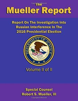 Report On The Investigation Into Russian Paperback Robert S. Mueller III Book 3