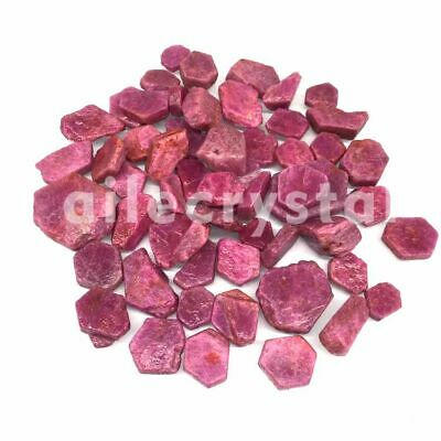 AAA+ 100g Natural Rough Red Corundum Stones and Minerals Reiki Ruby Raw Gemstone