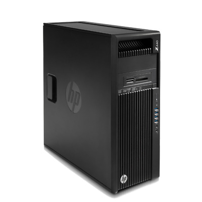 Hp Workstation Z440 Intel Xeon E5-1620v3 3.5GHZ 32GB RAM 600GB SAS