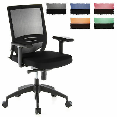 Pro Swivel Chair Ergonomic Computer Seat Mesh Backrest PORTO BASE hjh OFFICE