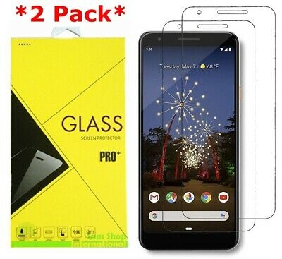 2-Pack Tempered Glass Screen Protector for Google Pixel 3a/ 3a XL