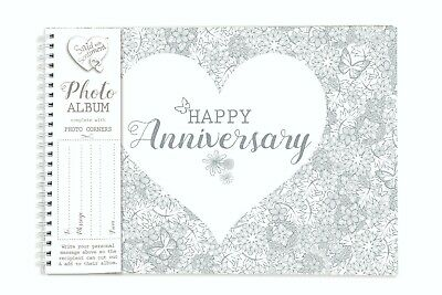 Said With Sentiment Scrapbook Photo Album - Happy Anniversary