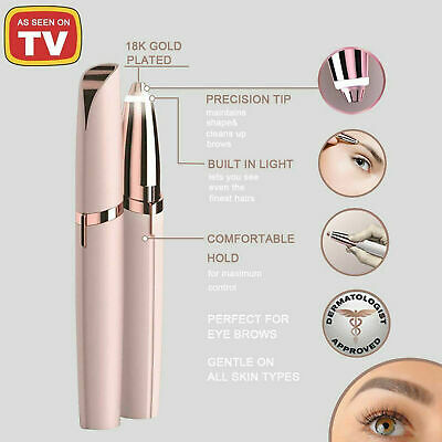 New Flawless Brows  LED Eyebrow Pencil Flawless Brows Electric Eyebrow Painless