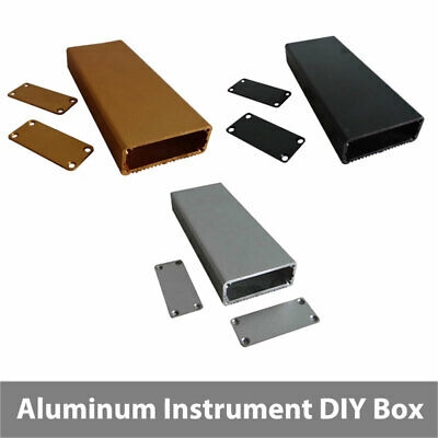 Aluminum Project Box Enclosure DIY Electronic Instrument Case 18x45x80 /110mm