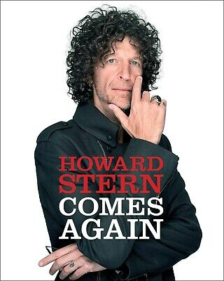 Howard Stern Comes Again Hardcover by Howard Stern Comedy legends Rock stars NEW