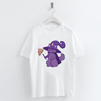 Simple White T-Shirt  Devil Tee Funny Anime Cartoon Top for Summer Spring Unisex