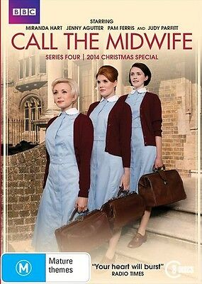 Call The Midwife Series : Season 4 + 2014 Christmas Special : NEW DVD