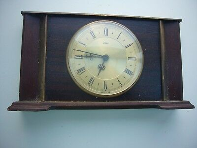 Vintage Metamec , Electric Mantle Clock Working Order.