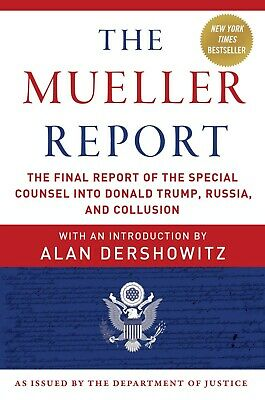 The Mueller Report: The Final Report Paperback by Robert S. Mueller III  NEW
