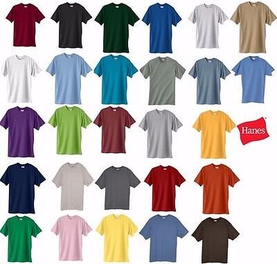 Hanes Beefy-T Big or TALL T-Shirts, 100% Cotton, LT-4XLT, 2XL-6XL, 5180, 518T