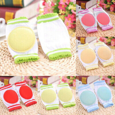 Baby Cotton Safety Crawling Elbow Cushion 3 Colors Toddlers Knee Pads Protector