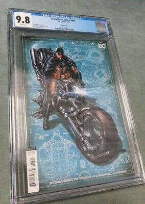Detective Comics #993 Mark Brooks Batcycle VARIANT Cover - CGC 9.8! DC Comics