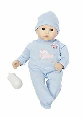 My First Baby Annabell Brother Sleeps Doll With Feeding Bottle