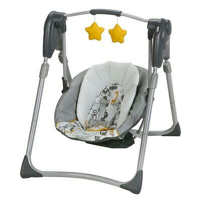 Graco Slim Spaces Compact Baby Swing - ABC